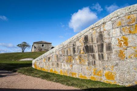"""Photo pour Fort de Santa Teresa. Rocha. Uruguay - Le fort """"Santa Teresa"""" a été construit par les Portugais en 1762, et achevé, des années plus tard par les Espagnols - image libre de droit"""