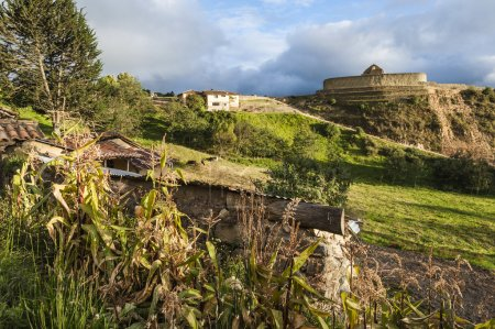 Ingapirca, Inca wall and town, largest known Inca ruins in Ecuad