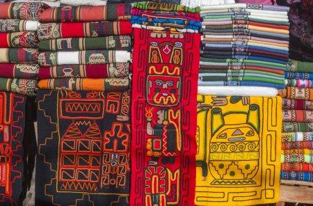 Photo pour Marché indien, Purmamarca, Argentine - image libre de droit
