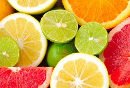 Photo pour Agrumes fruits frais - image libre de droit