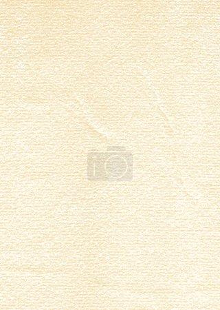 Illustration pour Papier aquarelle ancienne texture avec dommages, plis et rayures. Vintage fond beige vide avec espace pour le texte . - image libre de droit