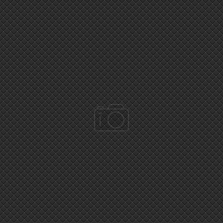 Seamless subtle pixel patterns with crisscross wire mesh textured on black background. Popular backdrop for web internet project site. Template size square format. Bitmap copy my vector illustration