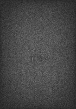 Subtle pattern seamless texture grainy noise effect on dark gray wallpaper background. Template paper size a4 vertical format. This image is a bitmap copy my vector illustration