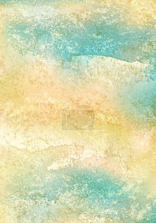 Retro vintage colored background with noise effect, grunge texture cracks, remnants of the paint layer. Abstract blank backdrop with space for text. Vector illustration clip-art design element 10 eps