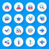 16 basic icon set