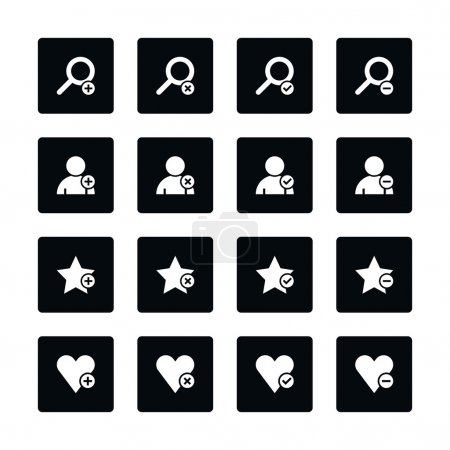 16 web pictogram set.