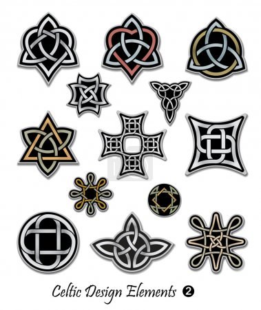 Celtic design elements