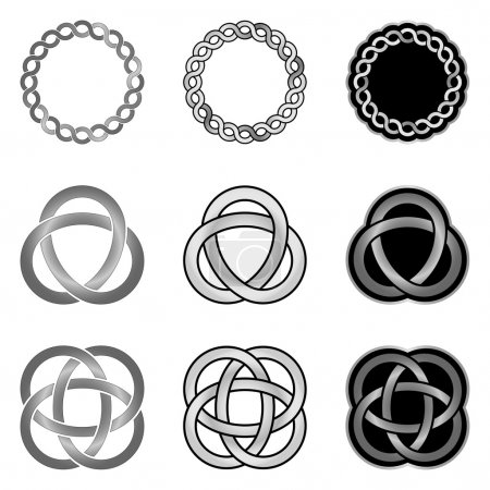 Collection of Celtic Knot patterns