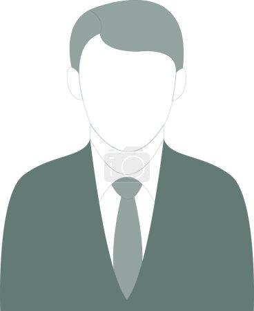 Illustration pour Illustration vectorielle d'un homme d'affaires bien habillé . - image libre de droit