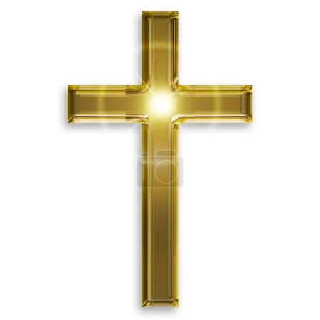 golden symbol of crucifix