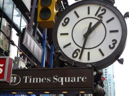 Times Square street shield