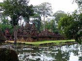 Banteay srei ruiny chrámu