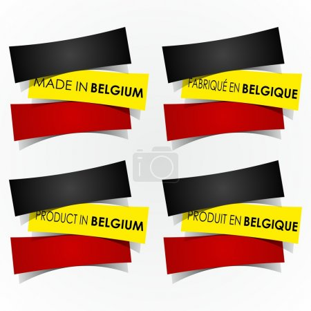 Made In Belgium Badges