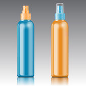 Colored sprayer bottle template