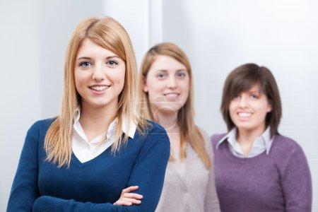 Group of Teenage students Girls