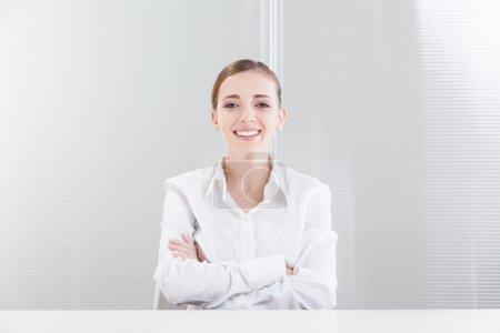Beautiful Female Professional Smiling