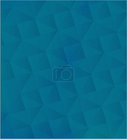Pattern of geometric shapes in dark blue tones.