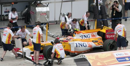 2009 Nelson Piquet Jr. at Malaysian F1 Grand Prix