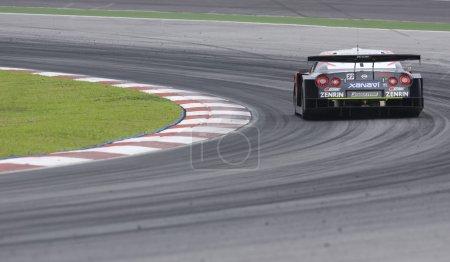 Photo pour Coups arrière du Super GT Malaysia Championship 2008 - image libre de droit