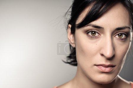 Latina Woman Depression Portrait
