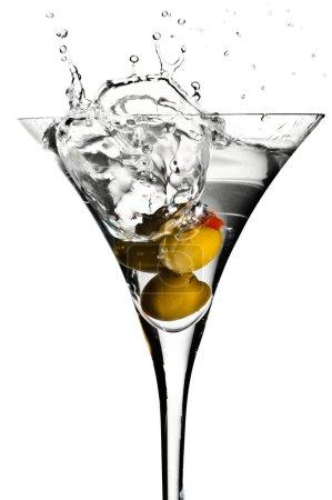 Photo for Martini splashes - Royalty Free Image