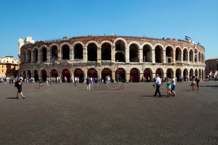 VERONA, ITALY-3 of SEPTEMBER. the world famous building of an am