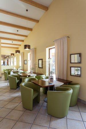 Mediterranean interior - waiting room