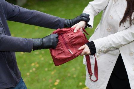 Bag theft