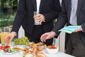 Business party on the open air