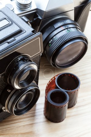 Cameras closeup
