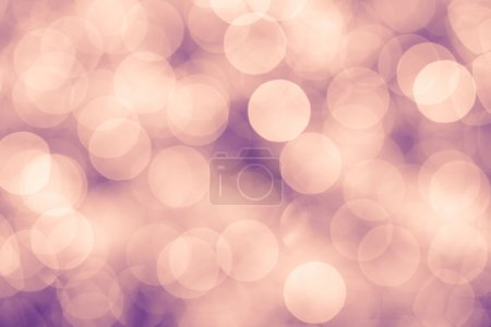 Pink and purple background with bokeh defocused lights, vintage colors