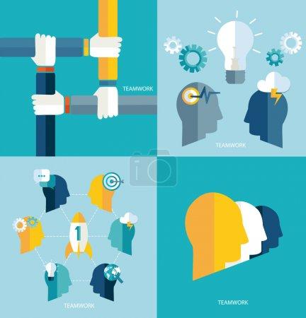 Concept teamwork