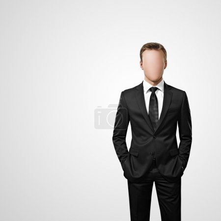 Photo for Faceless man - Royalty Free Image