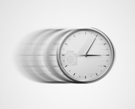Photo for White wall clock - Royalty Free Image