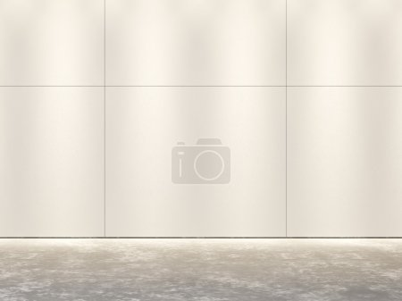 Wall of tiles - abstract background template.