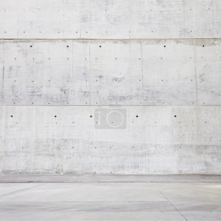 Photo for Vintage wall and floor in industrial building - Royalty Free Image