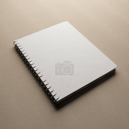 Photo for Spiral notepad notebook - Royalty Free Image