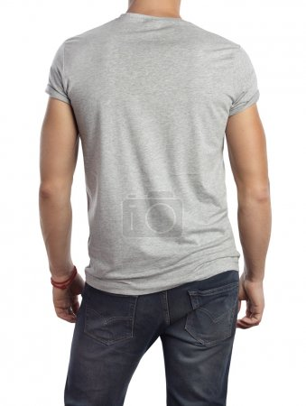 Man wearing t-shirt