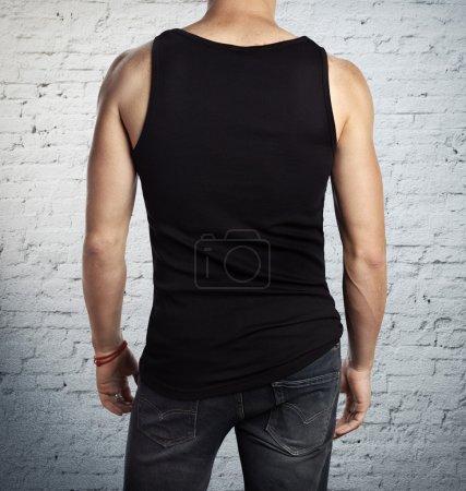 Man wearing shirt