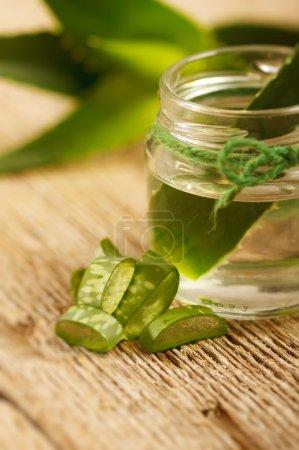 Extract of aloe vera