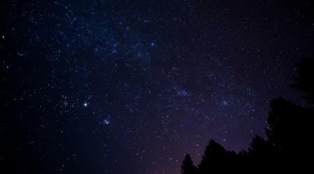 Pohybu hvězd na obloze