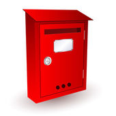 Red Mailbox Vector Icon