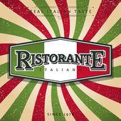 Italian Restaurant Banner