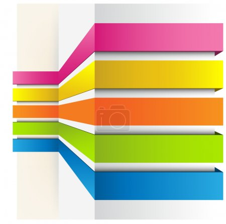 Illustration for Abstract Colorful Background - Royalty Free Image