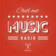 Retro Poster for Chill Out Music Radio...