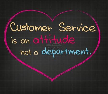 Ilustración de Servicio al cliente - Imagen libre de derechos