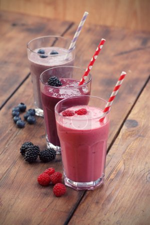 Photo for Fruit smoothies - Royalty Free Image