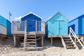 Modré pláže chaty