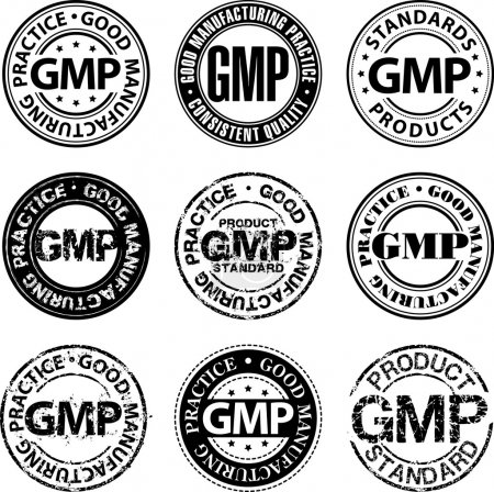 Good manufacturing practice stamp