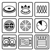 Symbols indicate properties and destination of a metallic utensil